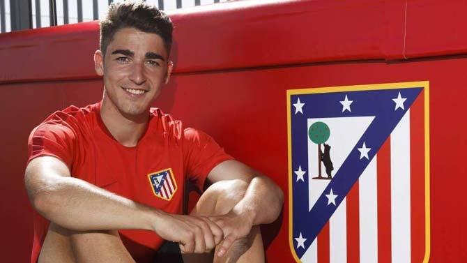 Toni Moya de Cala Millor debuta en el primer equipo del Atlético ...
